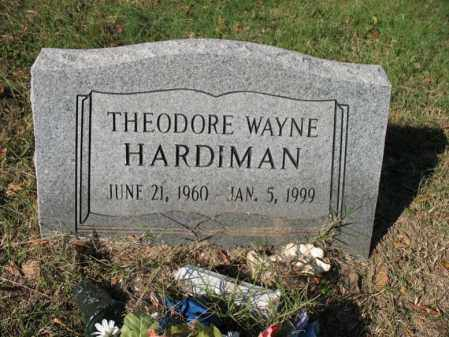 HARDIMAN, THEODORE WAYNE - Cross County, Arkansas | THEODORE WAYNE HARDIMAN - Arkansas Gravestone Photos