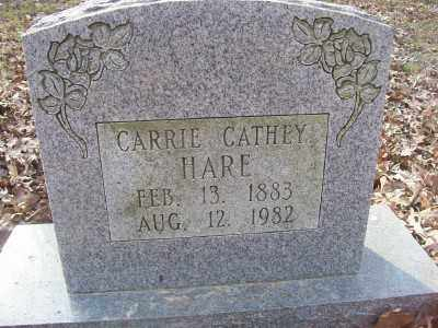 CATHEY HARE, CARRIE - Cross County, Arkansas | CARRIE CATHEY HARE - Arkansas Gravestone Photos