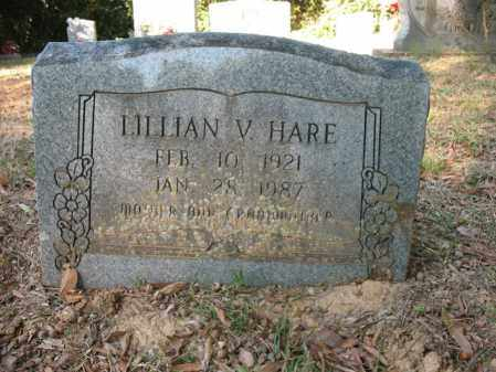 HARE, LILLIAN V - Cross County, Arkansas | LILLIAN V HARE - Arkansas Gravestone Photos
