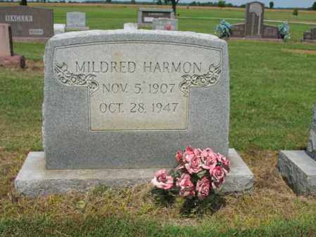 HARMON, MILDRED - Cross County, Arkansas | MILDRED HARMON - Arkansas Gravestone Photos