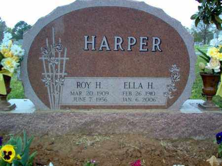 HARPER, ELLA H - Cross County, Arkansas | ELLA H HARPER - Arkansas Gravestone Photos
