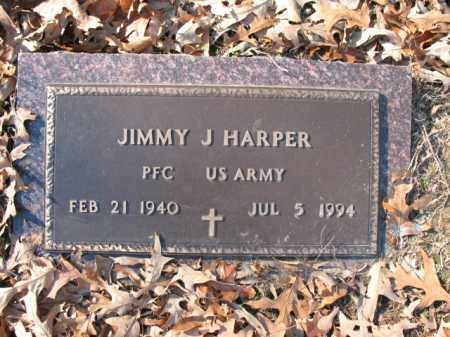 HARPER (VETERAN), JIMMY J - Cross County, Arkansas | JIMMY J HARPER (VETERAN) - Arkansas Gravestone Photos