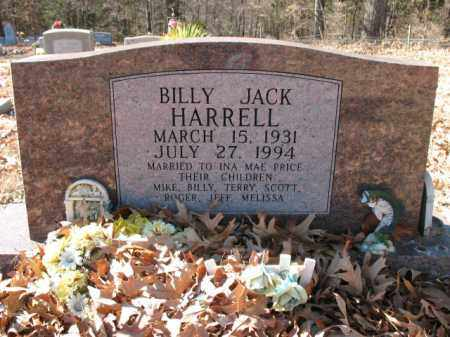 HARRELL, BILLY JACK - Cross County, Arkansas | BILLY JACK HARRELL - Arkansas Gravestone Photos