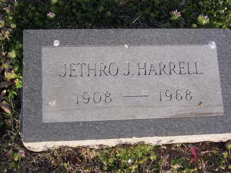 HARRELL, JETHRO J - Cross County, Arkansas | JETHRO J HARRELL - Arkansas Gravestone Photos