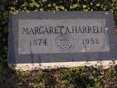HARRELL, MARGARET A - Cross County, Arkansas | MARGARET A HARRELL - Arkansas Gravestone Photos