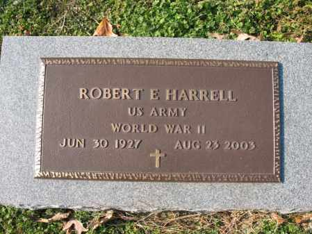 HARRELL, SR (VETERAN WWII), ROBERT E - Cross County, Arkansas | ROBERT E HARRELL, SR (VETERAN WWII) - Arkansas Gravestone Photos