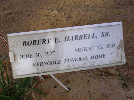 HARRELL, SR., ROBERT E - Cross County, Arkansas | ROBERT E HARRELL, SR. - Arkansas Gravestone Photos