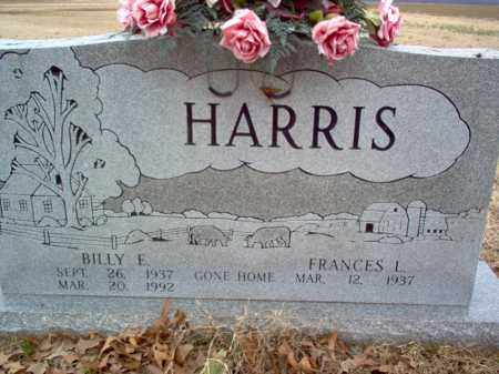HARRIS, BILLY E - Cross County, Arkansas | BILLY E HARRIS - Arkansas Gravestone Photos