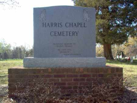 *HARRIS CHAPEL CEMETERY,  - Cross County, Arkansas |  *HARRIS CHAPEL CEMETERY - Arkansas Gravestone Photos