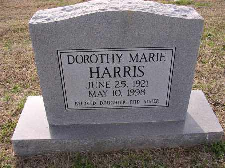 HARRIS, DOROTHY MARIE - Cross County, Arkansas | DOROTHY MARIE HARRIS - Arkansas Gravestone Photos