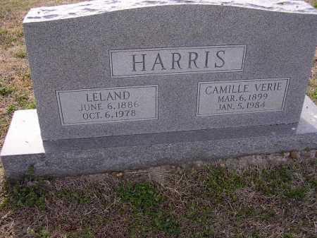 HARRIS, CAMILLE VERIE - Cross County, Arkansas | CAMILLE VERIE HARRIS - Arkansas Gravestone Photos