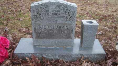 HARRIS, NICIE - Cross County, Arkansas | NICIE HARRIS - Arkansas Gravestone Photos