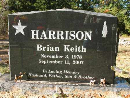HARRISON, BRIAN KEITH - Cross County, Arkansas | BRIAN KEITH HARRISON - Arkansas Gravestone Photos