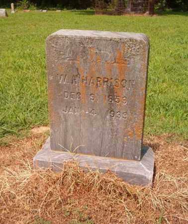 HARRISON, W. H. - Cross County, Arkansas | W. H. HARRISON - Arkansas Gravestone Photos