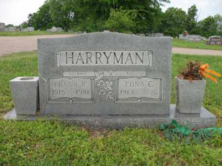 HARRYMAN, EDNA C - Cross County, Arkansas | EDNA C HARRYMAN - Arkansas Gravestone Photos