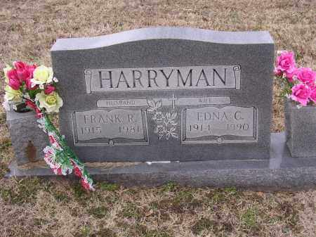 HARRYMAN, FRANK R - Cross County, Arkansas | FRANK R HARRYMAN - Arkansas Gravestone Photos