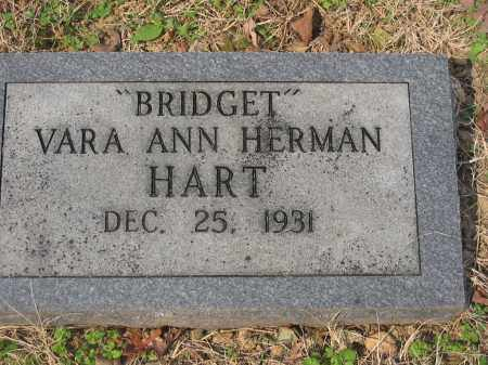 HART, BRIDGET (CONTRIBUTOR BIO) - Cross County, Arkansas | BRIDGET (CONTRIBUTOR BIO) HART - Arkansas Gravestone Photos