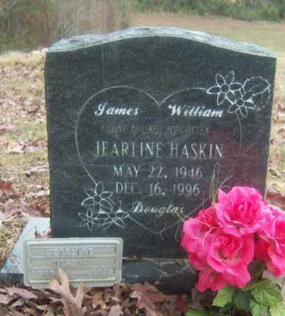 HASKIN, JEARLINE - Cross County, Arkansas | JEARLINE HASKIN - Arkansas Gravestone Photos