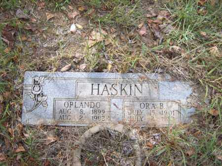 HASKIN, ORLANDO - Cross County, Arkansas | ORLANDO HASKIN - Arkansas Gravestone Photos