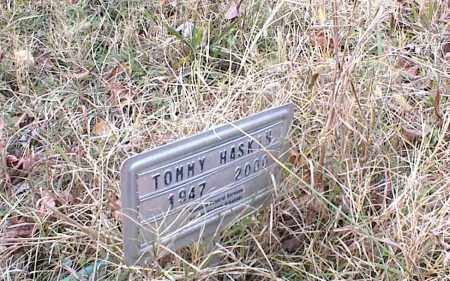 HASKIN, TOMMY - Cross County, Arkansas | TOMMY HASKIN - Arkansas Gravestone Photos
