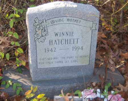 HATCHETT, WINNIE - Cross County, Arkansas | WINNIE HATCHETT - Arkansas Gravestone Photos