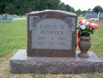 HATHCOCK, CARLOS N - Cross County, Arkansas | CARLOS N HATHCOCK - Arkansas Gravestone Photos