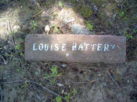 HATTERY, LOUISE - Cross County, Arkansas | LOUISE HATTERY - Arkansas Gravestone Photos