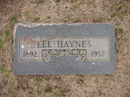 HAYNES, LEE - Cross County, Arkansas | LEE HAYNES - Arkansas Gravestone Photos