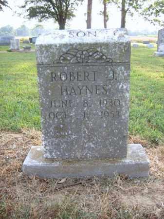 HAYNES, ROBERT J - Cross County, Arkansas | ROBERT J HAYNES - Arkansas Gravestone Photos