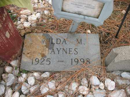HAYNES, WILDA M - Cross County, Arkansas | WILDA M HAYNES - Arkansas Gravestone Photos