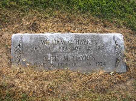 HAYNES, WILLIAM C - Cross County, Arkansas | WILLIAM C HAYNES - Arkansas Gravestone Photos