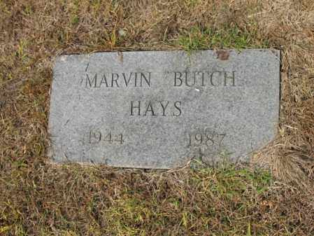 "HAYS, MARVIN ""BUTCH"" - Cross County, Arkansas 