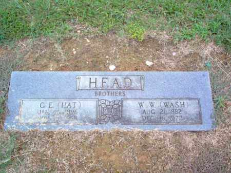 "HEAD, W W ""WASH"" - Cross County, Arkansas 