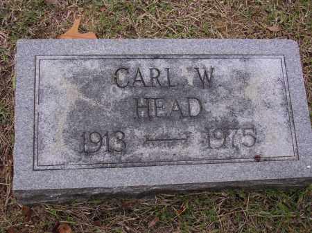 HEAD, CARL W - Cross County, Arkansas | CARL W HEAD - Arkansas Gravestone Photos
