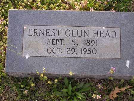 HEAD, ERNEST OLUN - Cross County, Arkansas   ERNEST OLUN HEAD - Arkansas Gravestone Photos