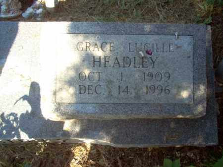 HEADLEY, GRACE LUCILLE - Cross County, Arkansas | GRACE LUCILLE HEADLEY - Arkansas Gravestone Photos