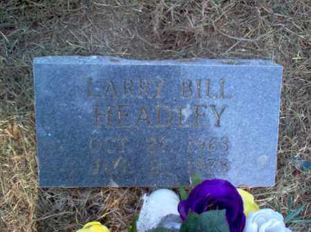 HEADLEY, LARRY BILL - Cross County, Arkansas | LARRY BILL HEADLEY - Arkansas Gravestone Photos