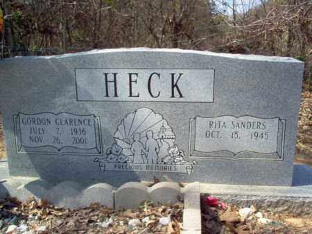 HECK, GORDON CLARENCE - Cross County, Arkansas | GORDON CLARENCE HECK - Arkansas Gravestone Photos