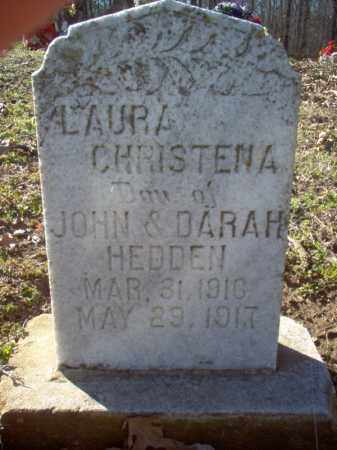 HEDDEN, LAURA CHRISTENA - Cross County, Arkansas | LAURA CHRISTENA HEDDEN - Arkansas Gravestone Photos