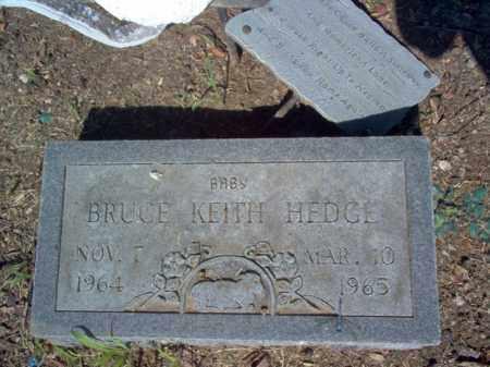 HEDGE, BRUCE KEITH - Cross County, Arkansas | BRUCE KEITH HEDGE - Arkansas Gravestone Photos