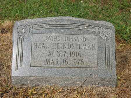 HEINDSELMAN, NEAL - Cross County, Arkansas | NEAL HEINDSELMAN - Arkansas Gravestone Photos