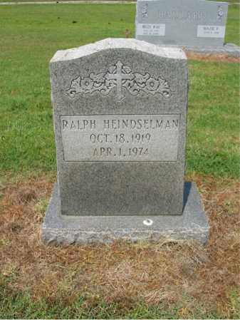HEINDSELMAN, RALPH - Cross County, Arkansas | RALPH HEINDSELMAN - Arkansas Gravestone Photos