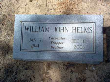 HELMS, WILLIAM JOHN - Cross County, Arkansas | WILLIAM JOHN HELMS - Arkansas Gravestone Photos