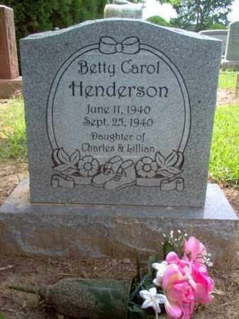 HENDERSON, BETTY CAROL - Cross County, Arkansas | BETTY CAROL HENDERSON - Arkansas Gravestone Photos