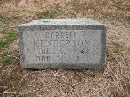 HENDERSON, DARRELL - Cross County, Arkansas | DARRELL HENDERSON - Arkansas Gravestone Photos
