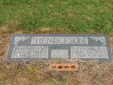 HENDERSON, FANNIE E - Cross County, Arkansas | FANNIE E HENDERSON - Arkansas Gravestone Photos