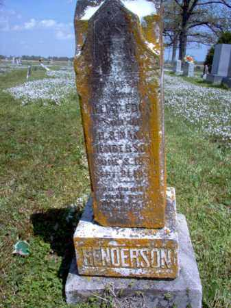 HENDERSON, WILLIAM EDGAR - Cross County, Arkansas | WILLIAM EDGAR HENDERSON - Arkansas Gravestone Photos