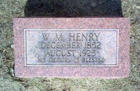 HENRY, W M - Cross County, Arkansas   W M HENRY - Arkansas Gravestone Photos