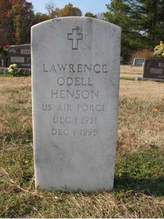 HENSON (VETERAN), LAWRENCE ODELL - Cross County, Arkansas | LAWRENCE ODELL HENSON (VETERAN) - Arkansas Gravestone Photos