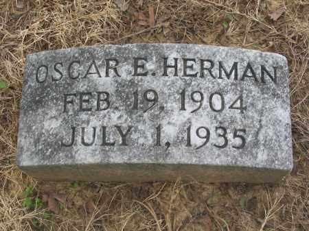 HERMAN, OSCAR EUGENE - Cross County, Arkansas | OSCAR EUGENE HERMAN - Arkansas Gravestone Photos